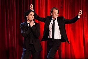 Norwegian comic duo, Ylvis