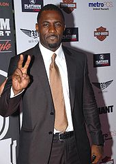 Idris Elba na after-party American Music Awards 2007