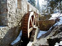 Ieriķu dzirnavu ūdensrats 2000-03-26.jpg