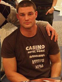 Igor Jurković Croatian kickboxer