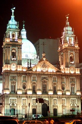 Igreja de Nossa Senhora da Candel%C3%A1ria - Rio de Janeiro, Brasil