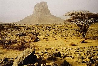 Iharen, Phonolith bei Tamanrasset
