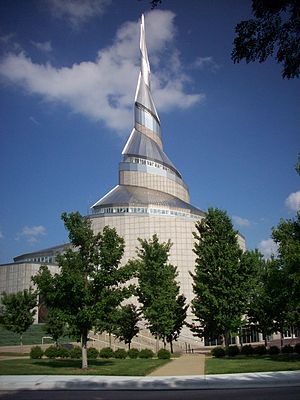 Independence Temple - Community of Christ Temple in Independence, Missouri, USA. Dedicated 1994