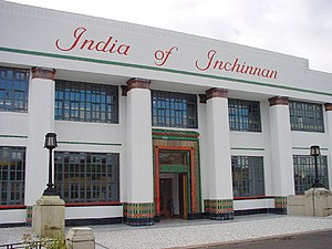Inchinnan - Image: India of Inchinnan from North