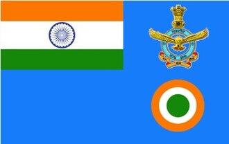 Idris Hasan Latif - Image: Indian CAS flag