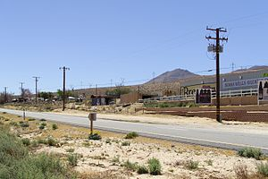 Indian Wells, Kern County, California - Image: Indian Wells across SR14 2016 04 17