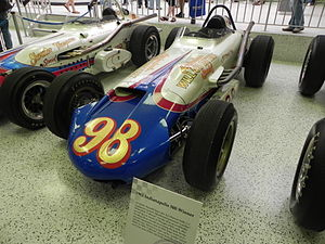 1962 Indianapolis 500 - Image: Indy 500winningcar 1963