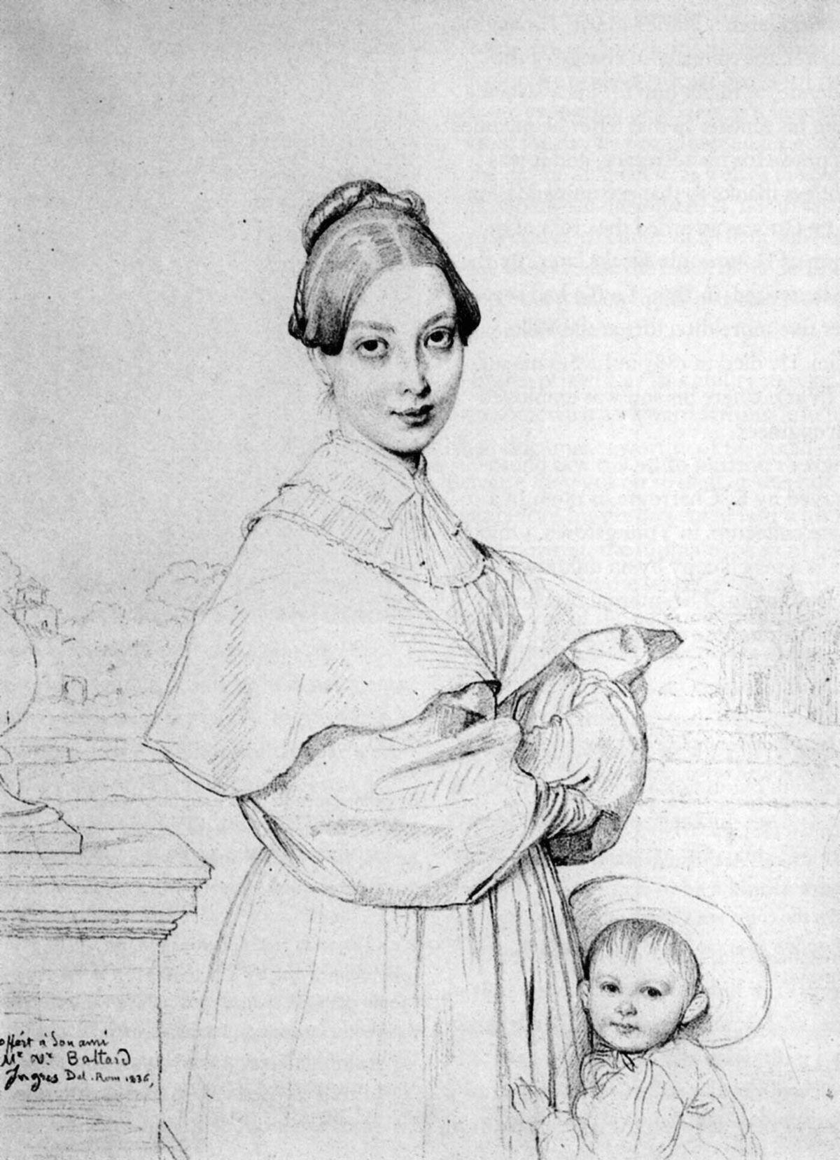 Ingres - Mme Victor Baltard & sa fille Paule.jpg