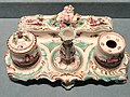 Inkstand, Derby China Works - Indianapolis Museum of Art - DSC00580.JPG