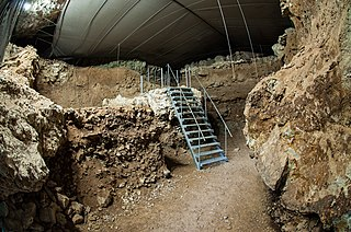 Divje Babe Cave and archaeological site in Slovenia