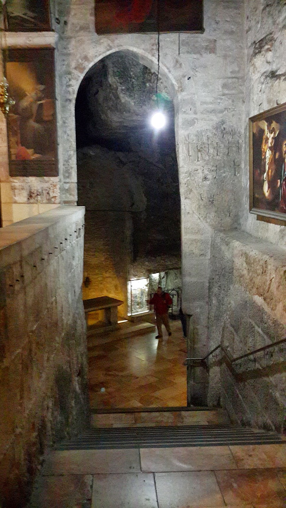 Inside the Church of the Holy Sepulchre - 19