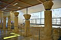 Inside the Memorial Church of Moses, mid-6th century CE. Mount Nebo, Jordan.jpg