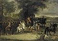 Inspectie van een regiment cavalerie, wellicht door Willem van Hessen-Homburg Rijksmuseum SK-A-4023.jpeg