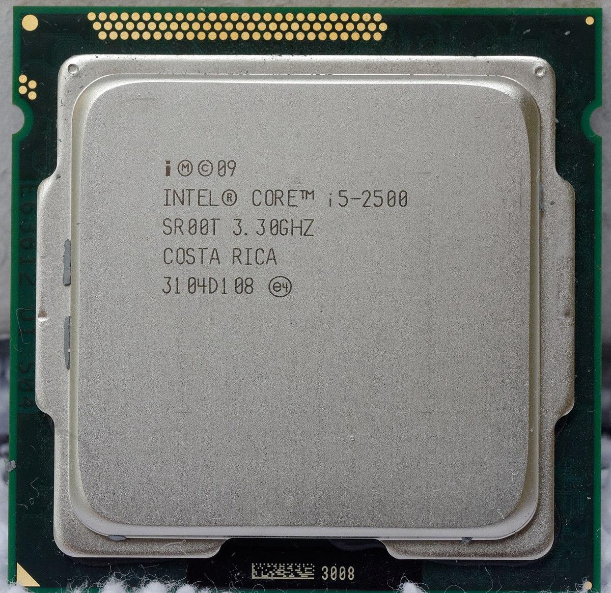 List of Intel Core i5 microprocessors - Wikipedia