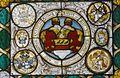 Interieur, glas-in-loodpaneel met gebrandschilderd glas, detail - Doorn - 20362512 - RCE.jpg