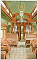 "Interior View of the Forward End of the Salt Lake and Chicago Buffet Smoking and Library Car, ""The Overland Limited"" Train, Union Pacific System.jpg"