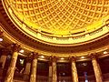 Interior of Gould Memorial Library (Rotunda and Columns).jpg