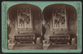 Interior of the McGraw-Fiske Mansion, Ithaca, N.Y. Carved wedding chest in Drawing room. (W. H. Miller, architect), by Eagles, J. D., 1837-1907.png
