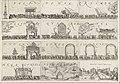 Intocht van Leicester te Den Haag, 1586 Delineatio pompae triumphalis qua Robertus Dudlaeus comes Leicestrensis Hage comitis fuit exceptus (titel op object), RP-P-OB-80.445.jpg