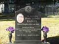 Irma Rangel grave marker, Texas State Cemetery IMG 6300.JPG