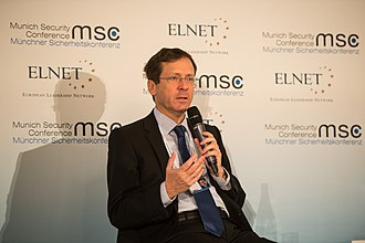 Isaac Herzog - Isaac Herzog speaking at the Munich Security Conference 2015