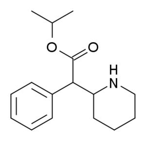 Isopropylphenidate - Image: Isopropylphenidate structure