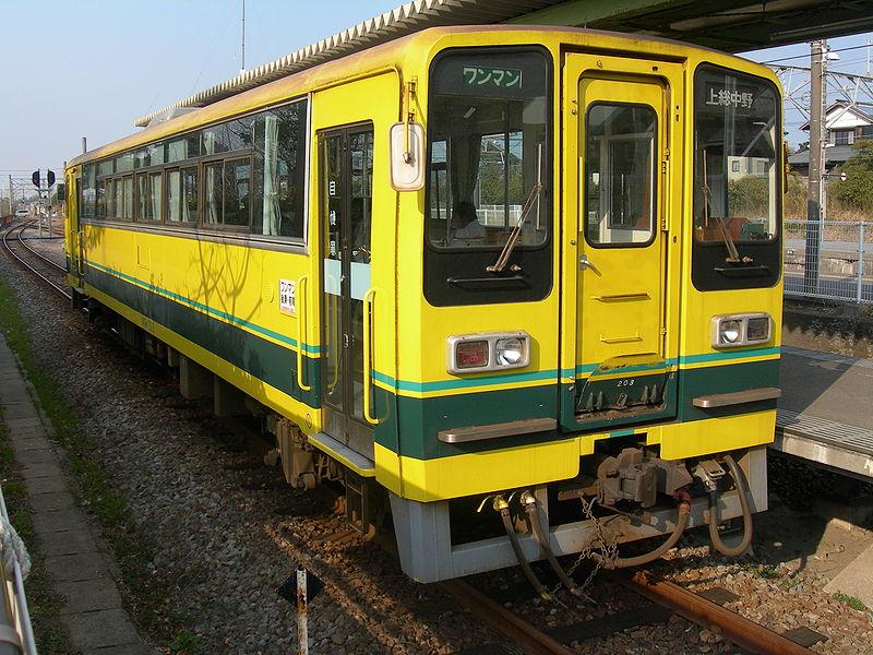 いすみ鉄道いすみ200形(ウィキペディアより)