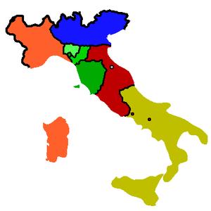 Savoyard state - Image: Italia 1859