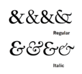 Italic ampersands.png