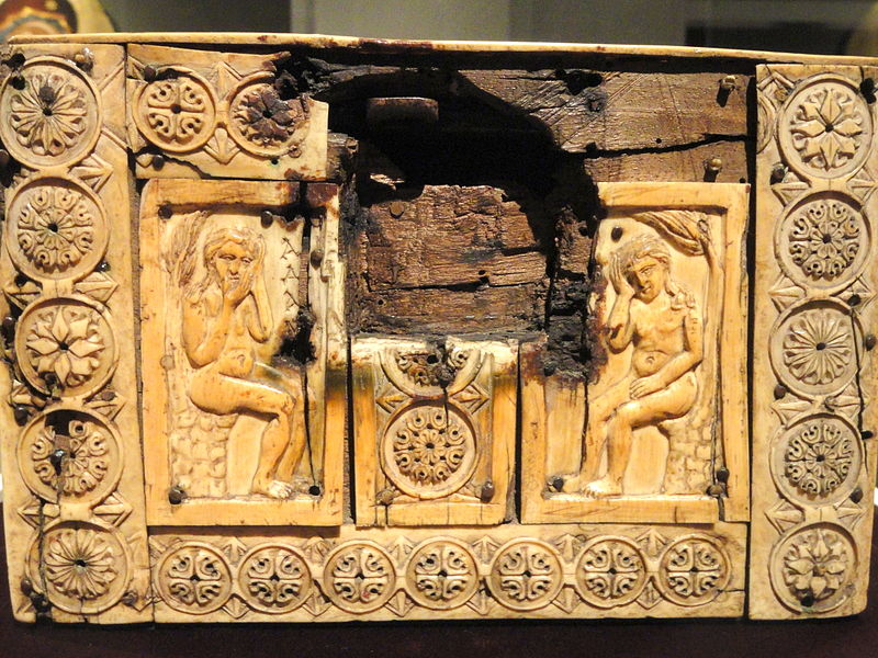 File:Ivory Box with Scenes of Adam and Eve, 1000-1100s AD, Byzantine, Constantinople, ivory, wood - Cleveland Museum of Art - DSC08380.JPG