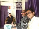 Izhar Warsi with Shariq Rabbani and Juned Ahmad .jpg