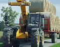 JCB telehandler, straw bale transport, near Bonby.jpg