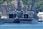 JMSDF ASE 6102 Asuka & DD-111 Oonami 20110918.JPG