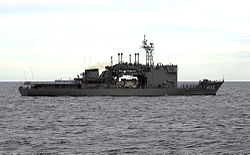 JS Chiyoda (AS-405) in the South China Sea, -6 Oct. 2000 a.jpg