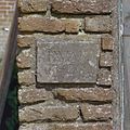 Jaartalsteen aan voorzijde van hoekkas- I WAB 18-20 - Vogelenzang - 20406331 - RCE.jpg