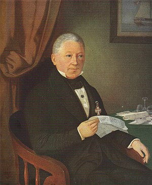 Jacob Holm - Jacon Holm painted in 1834