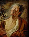 Jacob Jordaens - Abraham Grapheus as Job.JPG
