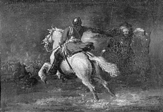 Horseman Firing a Pistol at another Horseman