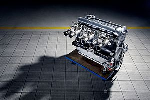 Jaguar XK6 engine - Image: Jaguar Heritage Racing (7005536288)