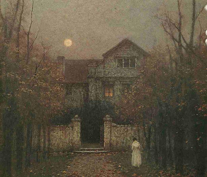 File:Jakub Schikaneder - Vecer v zahrade (1907-9).jpg