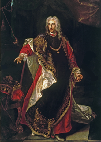 James Fitz-James Stuart, 2nd Duke of Berwick - Portrait by Louis-Michel van Loo