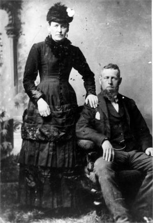 James Gervé Conroy - Image: James Gervé Conroy and Elizabeth Catherine Theresa Mary Ó Néill
