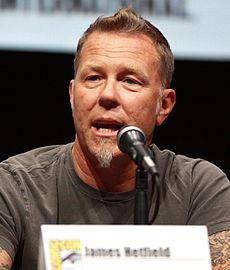 James Hetfield, 2013.