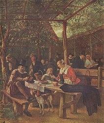 Jan Steen: The Inn Garden