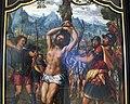 Jan sanders van hemessen, trittico del martirio di s. sebastiano, 1530 ca. 02.JPG