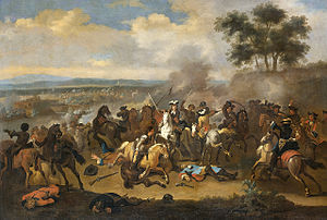 3rd The King's Own Hussars - Battle of the Boyne between James II and William III, 11 June 1690, Jan van Huchtenburg.