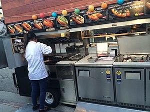 Japadog - A Japadog cart in Los Angeles