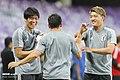 Japan training at Hazza bin Zayed Stadium 4.jpg