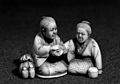 Japanese model figures; doctor and patient Wellcome L0004642.jpg
