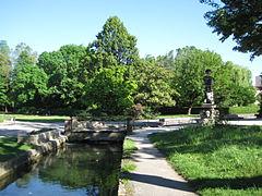 Jardin botanique de l 39 arquebuse de dijon wikip dia - Petit jardin robertson dijon ...